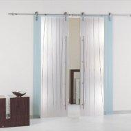 Откатные стеклянные двери. Раздвижные стеклянные двери