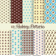 stock-vector-ten-bakery-patterns-195523952