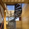 Винтовые стеклянные лестницы