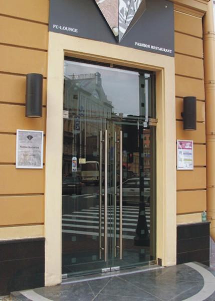 входные металлические двери для торговых зданий